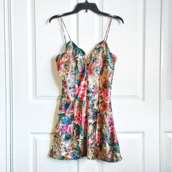 Victoria's Secret Dresses & Skirts - VINTAGE Victoria's Secret 80-90s Slip Dress/Gown
